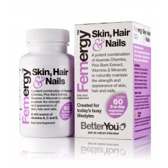 Femergy Skin, Hair & Nails 60 capsules