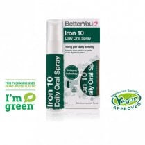 Iron 10 Daily Oral Spray 25ml (Green)