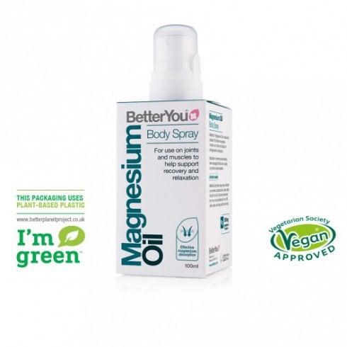BetterYou Magnesium Oil Body Spray 100ml (Formerly Original)