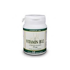 Vitamin B12 (as Methylcobalamin) Vegan 60's