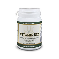 Vitamin B12 Methylcobalamin (Vegan) 60's