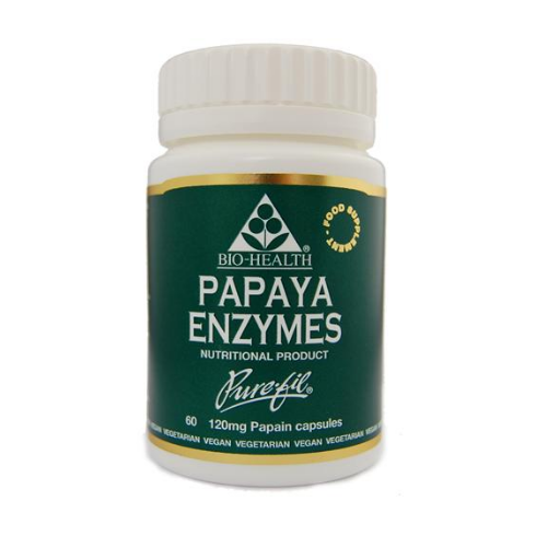 Bio-Health Papaya Enzymes 120mg 60's