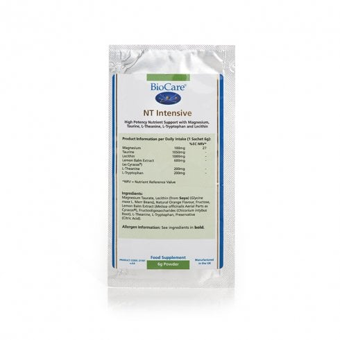 BioCare NT Intensive Single Sachet
