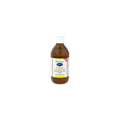 BioCare Organic Linseed Oil 250ml