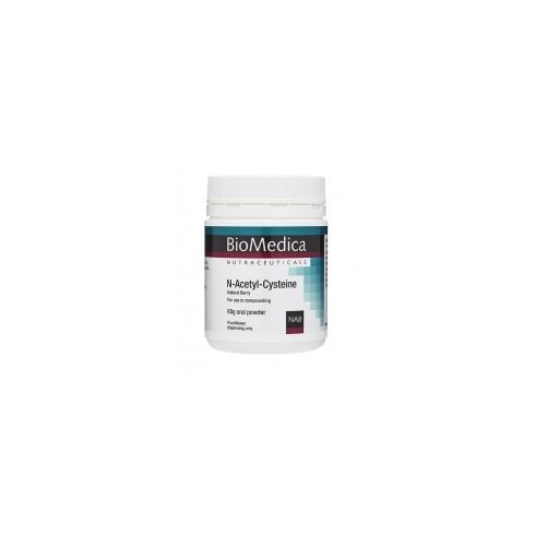 BioMedica N-Acetyl-Cysteine Natural Berry 60g
