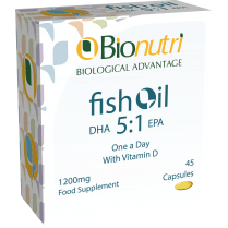 Fish Oil DHA 5:1 EPA 1200mg 45's