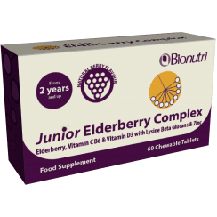 Junior Elderberry Complex (Chewable) 60's