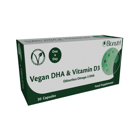 Bionutri Vegan DHA & Vitamin D3 30's