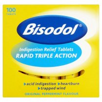 Bisodol Indigestion Relief Tablets x 100