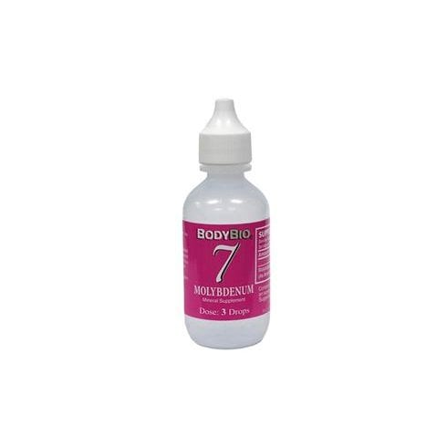 Bodybio 7 Molybdenum 2oz (60ml)
