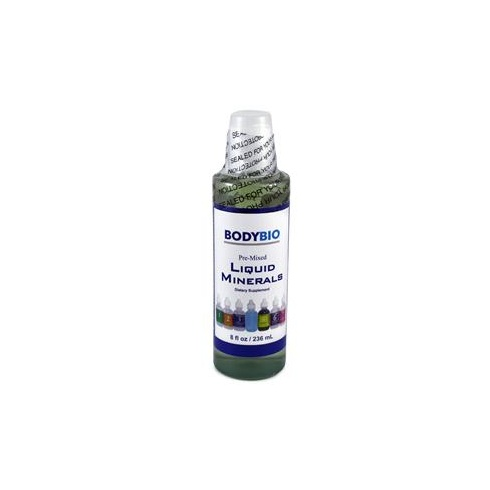Bodybio Pre-Mixed Liquid Minerals - 1 to 7 (No Copper) 236ml