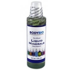 Pre-Mixed Liquid Minerals - 1 to 7 (No Copper) 236ml