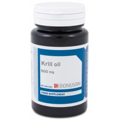 Krill Oil 500 mg 60 Soft Gel Capsules