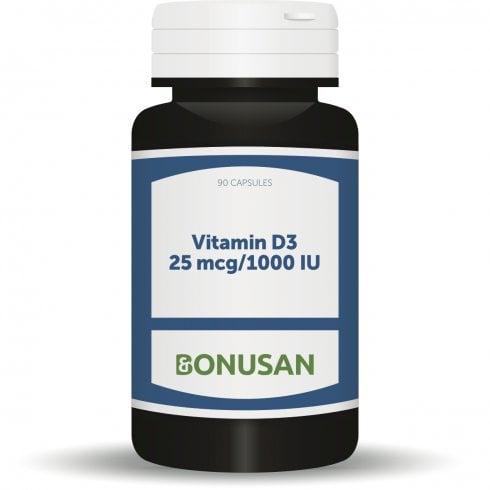 Bonusan Vitamin D3 25mcg/1000IU 90's