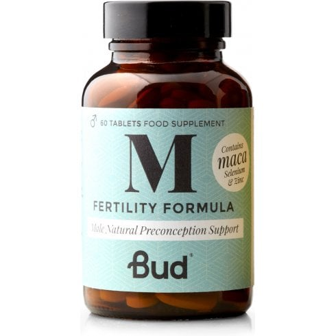 Bud Nutrition Male Natural Fertility Supplement 60's