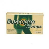 Buscopan Cramps Relief Tablets Hyoscine Butylbromide 10Mg 20