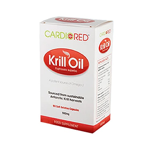 CardioRed Cardio Red Krill Oil caps 60's