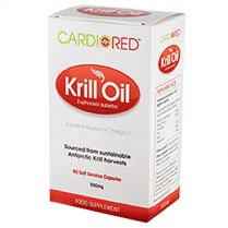 Cardio Red Krill Oil caps 60's