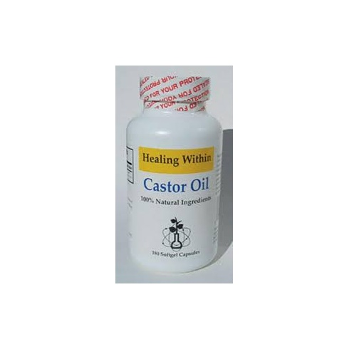 Tigon Castor Oil 180's (pure castor oil 590mg)