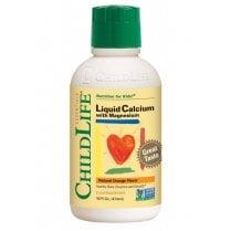 Liquid Calcium with Magnesium Natural Orange Flavour 474ml