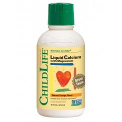 Liquid Calcium with Magnesium Natural Orange Flavour 474ml