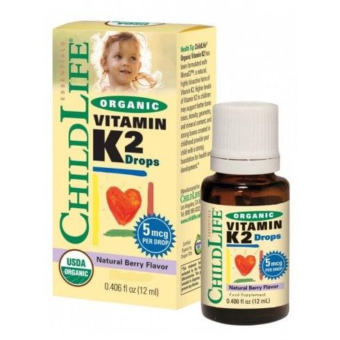 ChildLife Essential Organic Vitamin K2 Drops Berry 12ml