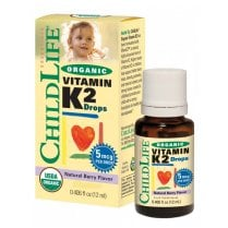 Organic Vitamin K2 Drops Berry 12ml