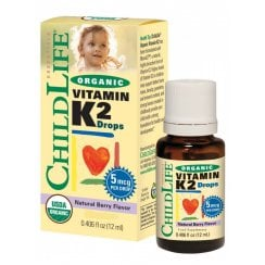 Organic Vitamin K2 Drops Berry 12ml