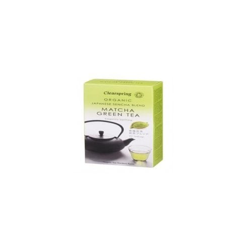 Clearspring Japanese Sencha Blend Matcha Green Tea 20's