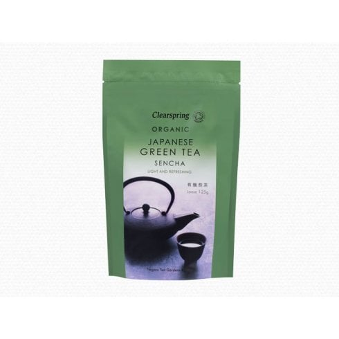 Clearspring Organic Japanese Green Tea Sencha LOOSE 125g