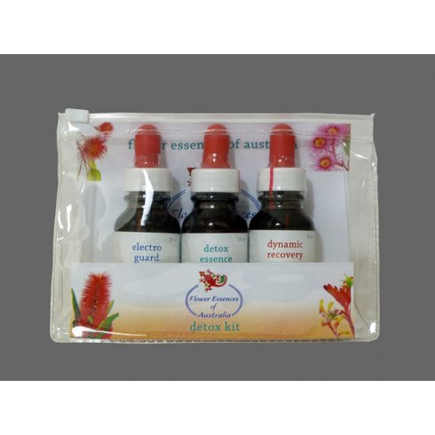 Flower Essences of Australia Combination Essence Detox Kit 3 x 25ml