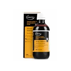 Manuka Honey & Blackcurrant Elixir 200ml
