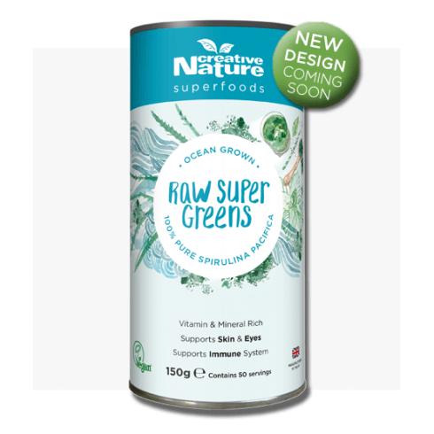 Creative Nature Raw Super Greens 150g