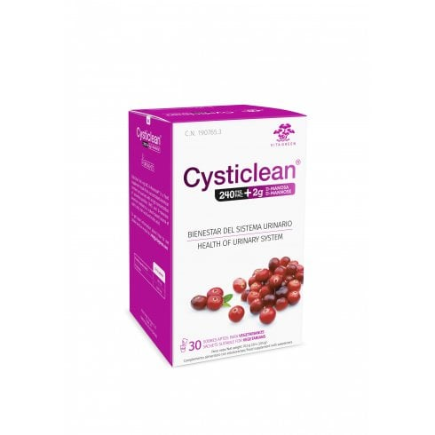 Cysticlean 240mg PAC + D-Mannose 30's