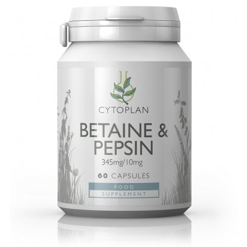 Cytoplan Betaine & Pepsin 60's