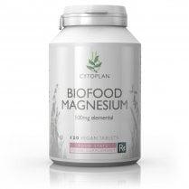 Cytoplan Biofood Magnesium 100mg 120's