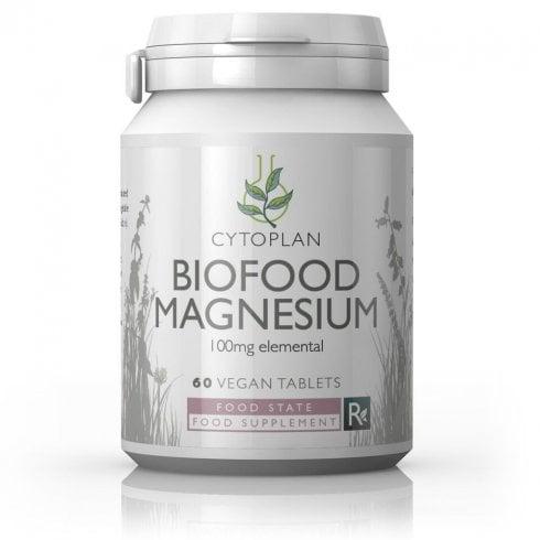 Cytoplan Biofood Magnesium 100mg  60's