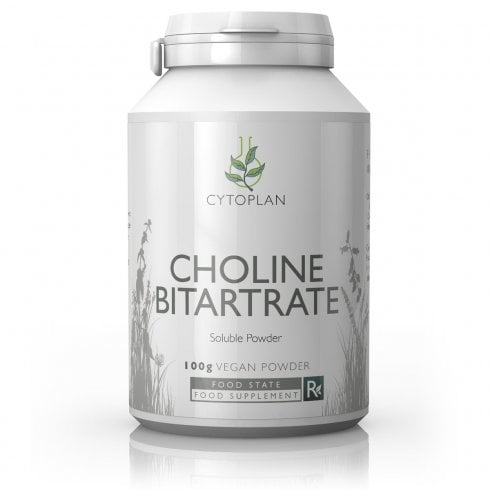 Cytoplan Choline Bitartrate 100g