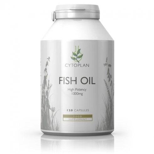 Cytoplan Fish Oil 1000mg 120's