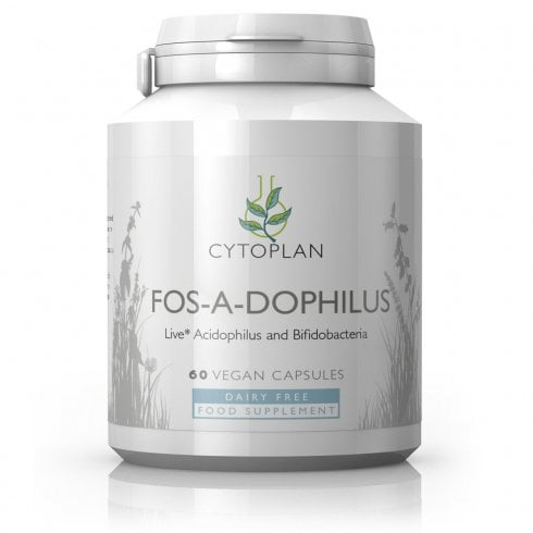 Cytoplan Fos-a-dophilus Dairy Free 60's