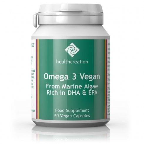 Cytoplan Health Creation Omega 3 Vegan 60's