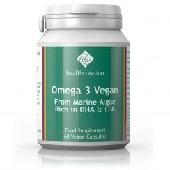 Omega 3 Vegan Health Creation 60's