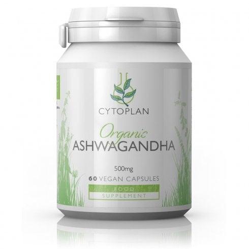Cytoplan Organic Ashwagandha 60's