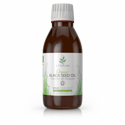 Cytoplan Organic Black Seed Oil 200ml