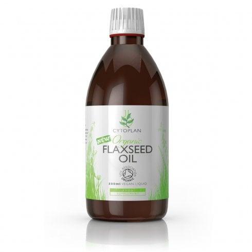 Cytoplan Organic Flaxseed Oil 500ml