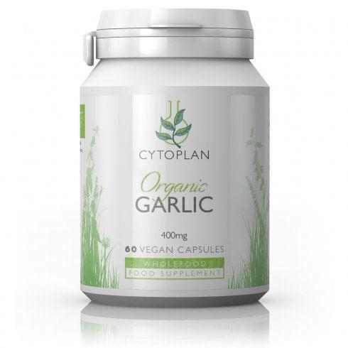 Cytoplan Organic Garlic 60's