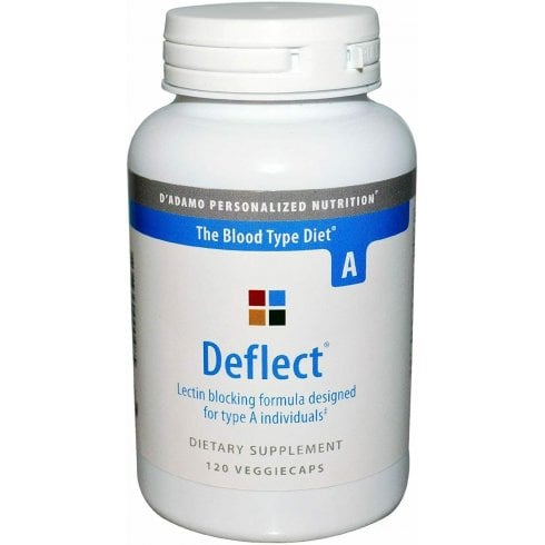 D'Adamo Personalized Nutrition Deflect Lectin Blocking Formula for Type A 120's