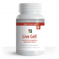Live Cell Sprouted Food Supplement for Type O 90's