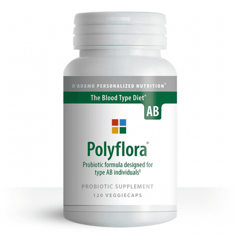 D'Adamo Personalized Nutrition Polyflora Formula for Type AB 120's