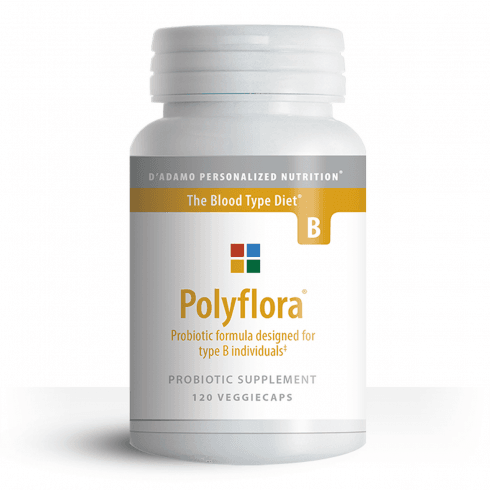 D'Adamo Personalized Nutrition Polyflora Formula for Type B 120's